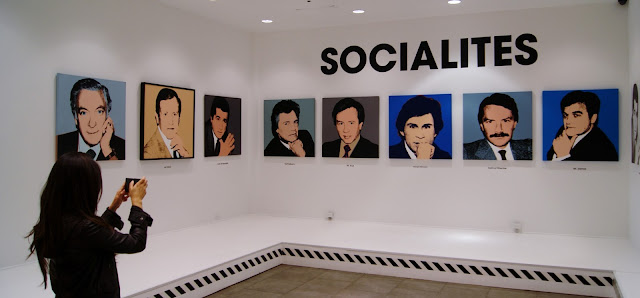 Andy Warhol: Revisited exhibit in Toronto, culture, exhibition, revolver gallery, paintings,ontario, canada, the purple scarf, melanieps, socialites