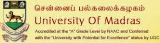 Madras University Recruitment