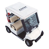 CENTRUM LINK - MINI GOLF BUGGY WITH DIGITAL CLOCK - Code 1715