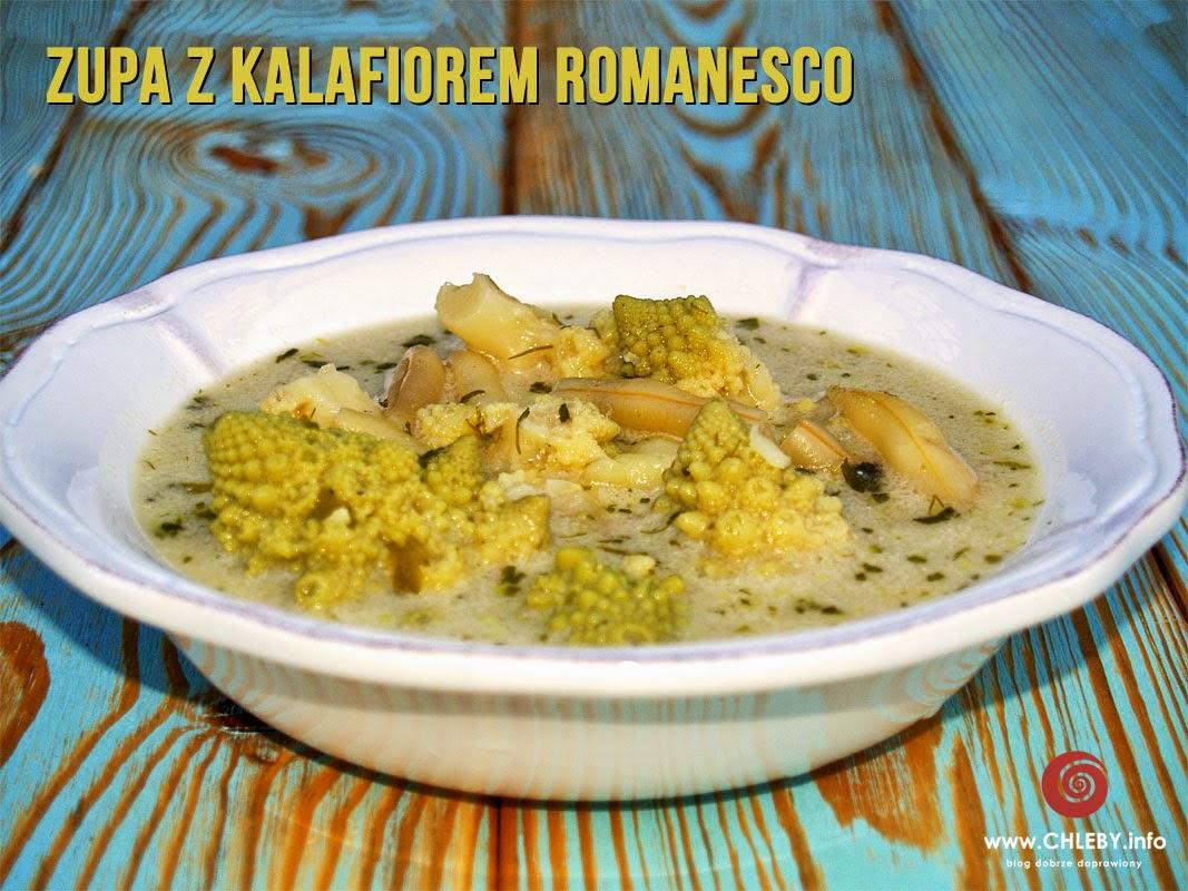 Zupa z kalafiorem romanesco