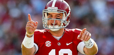 A.J. McCarron complains about disrespect from Tennessee, is a hypocrite.