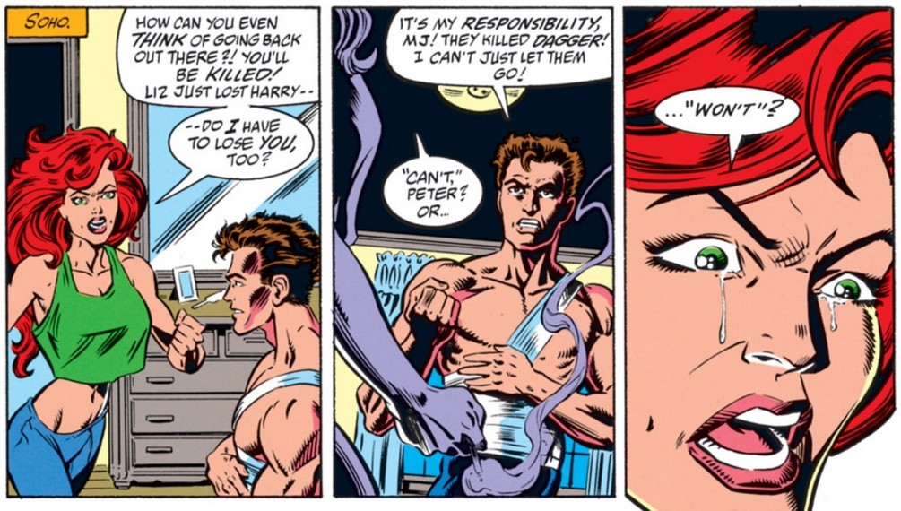 Peter parker and mary jane having sex