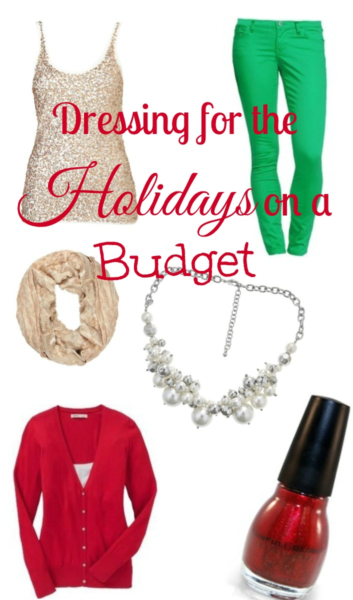 Dressing for the Holidays on a Budget
