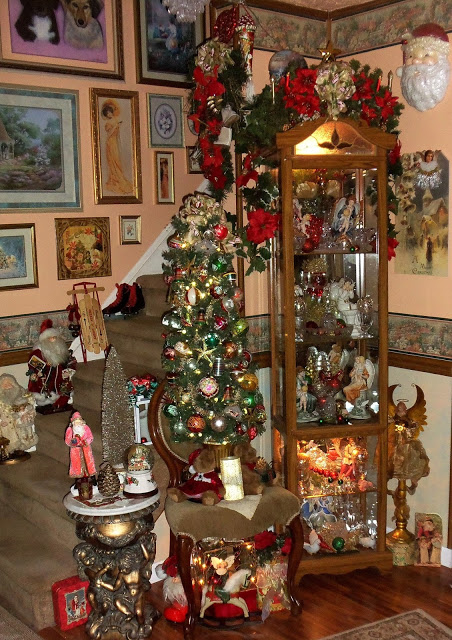Christmas in the Living Room, Part 1, Christmas Home Tour, 2016