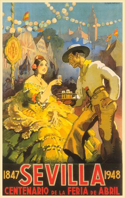 cartel publicitario antiguo