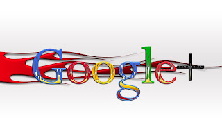 Google+ Plus Social Network Logo G+ Old School Red Flames 3D HD Wallpaper