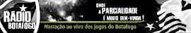 Eu agora também comento ao vivo na Rádio Botafogo