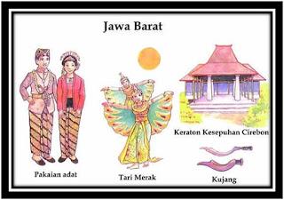 Jawa Barat Ibukota Bandung Senjata Kujang Tarian Tari Merak Rumah Adat Keraton Kasepuhan Cirebon