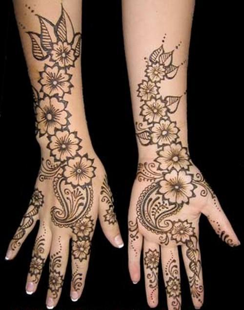 Mehndi Hands Arabic : Bridal mehndi desings latest pakistani