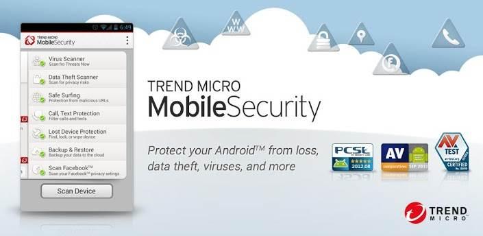 Trend Micro Antivirus untuk Android Gratis & Terbaik