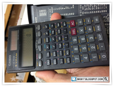 Scientific Calculator Casio fx-991W