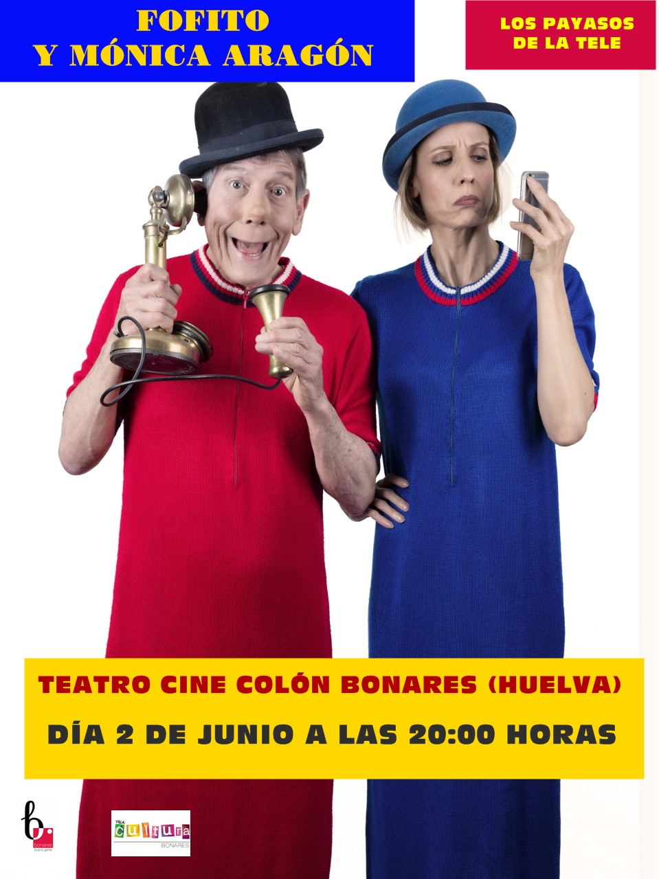 LOS PAYASOS DE LA TELE EN BONARES