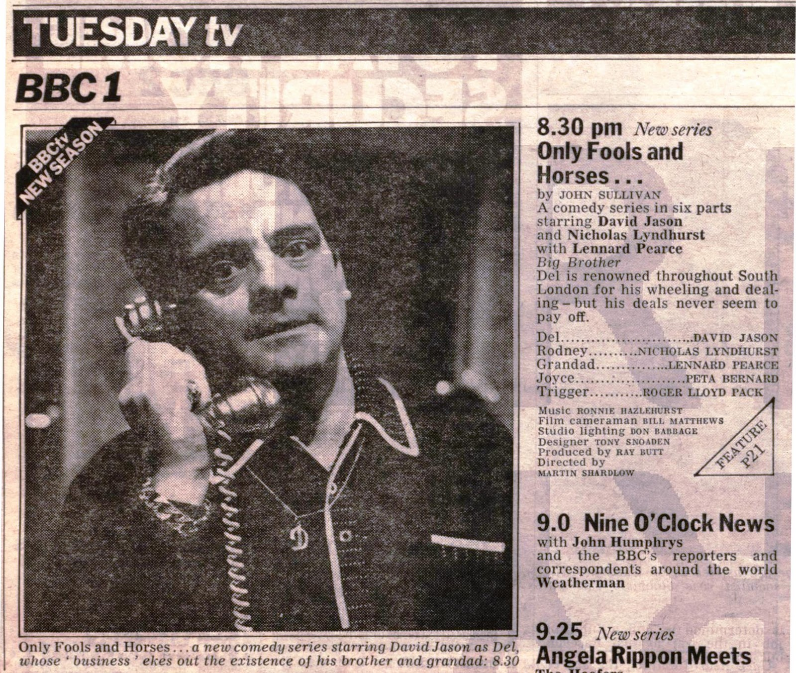 the story of euston films 2011 radio times listing for the first episode of only fools and horses edition dated 5 11 1981
