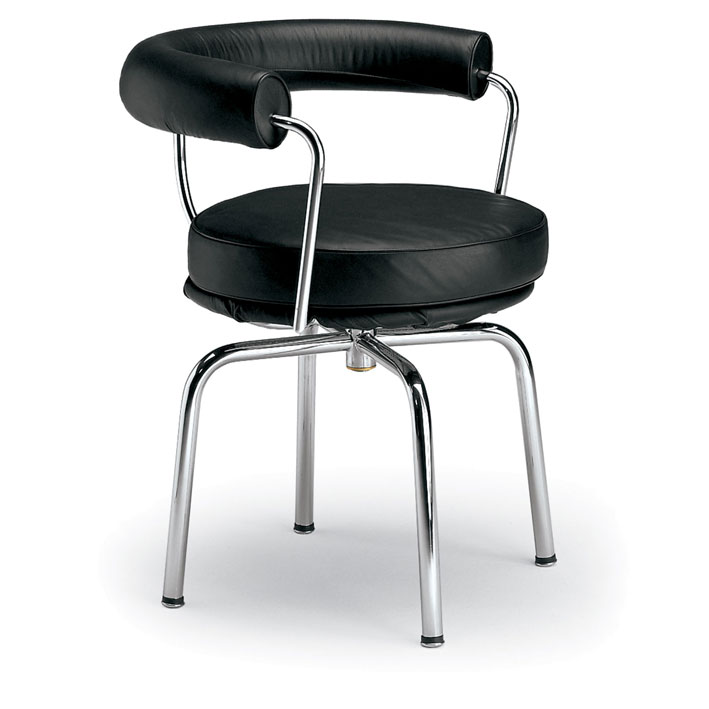 Ordinaire Chair Designed By Le Corbusier With The Collaboration Of Pierre Jeanneret  And Charlotte Perriand. Made In Chromed Bent Tubular Steel And Leather.