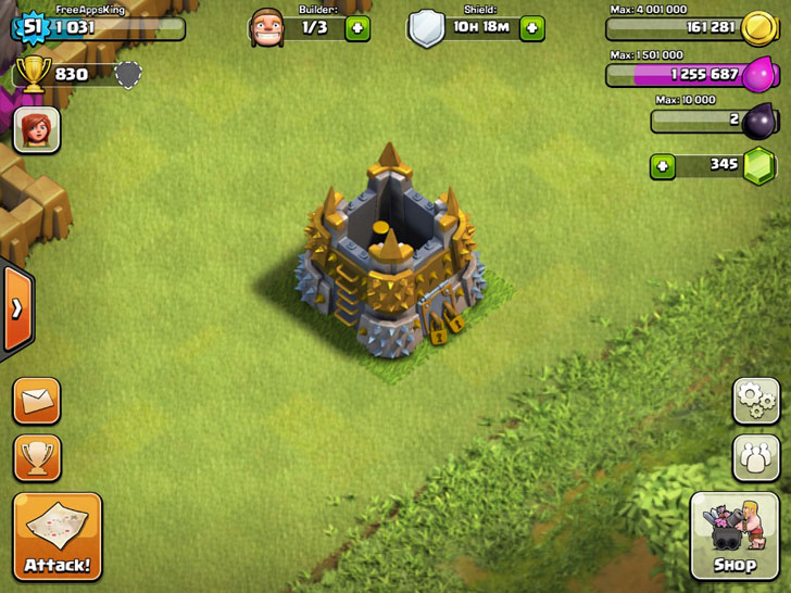 Gold Storage - Resources - Clash Of Clans Guide - FreeApps.ws