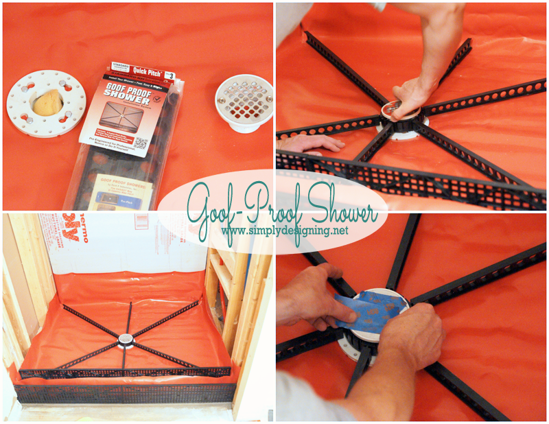 Elegant Goof Proof Shower Pan Kit | How To Create Your Own Shower Pan. Pin