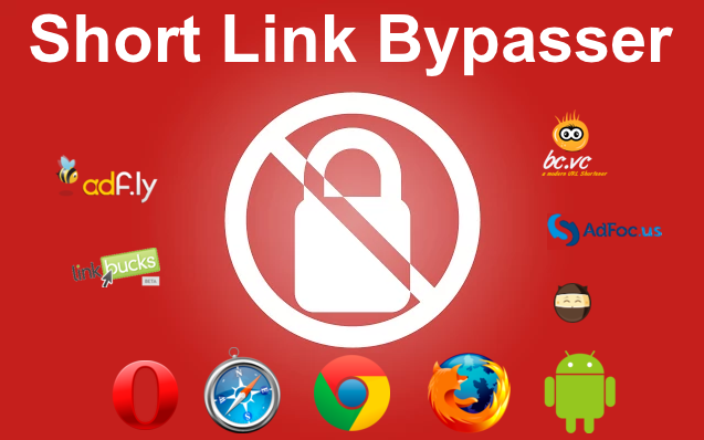 Short Link Bypasser [Chrome | Firefox | Safari | Opera | Yandex | Android]