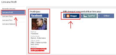 Cara Memasang Lencana Facebook di Blog