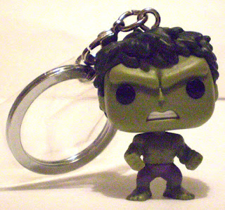 Front of Hulk Pocket Pop Keychain