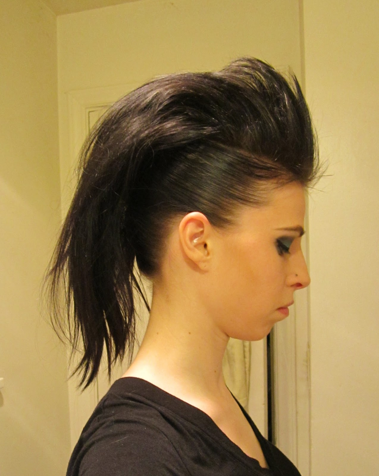 Inspired Xpression How To Make A Mohawk With Long Hair
