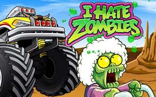 Screenshots of the I hate zombies for Android tablet, phone.