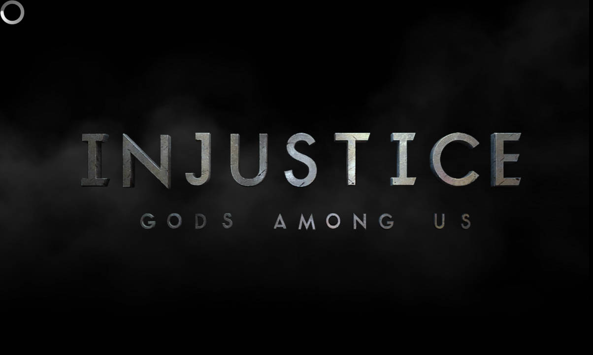 Logo Injustice Gods Among Us