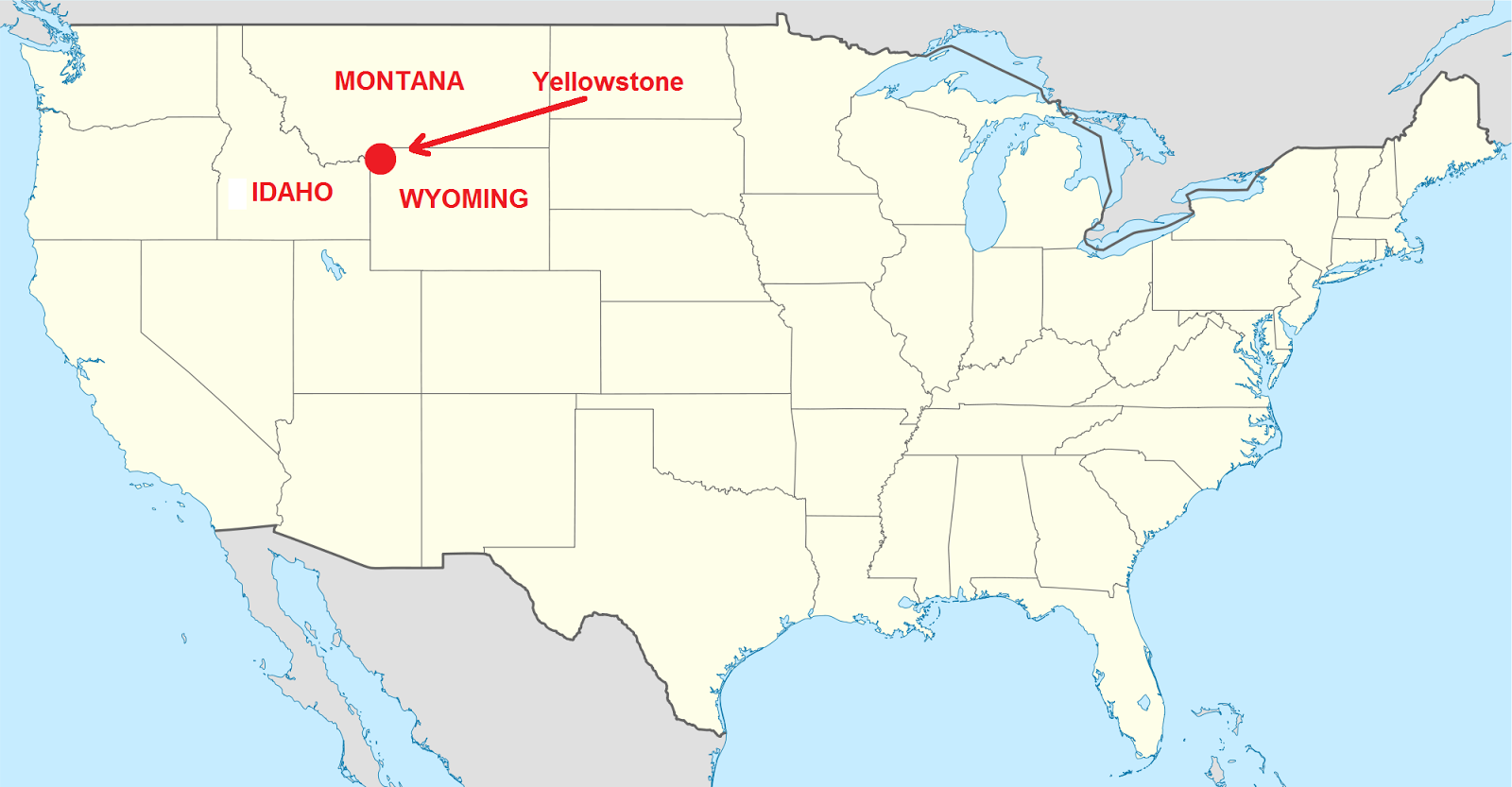 Ameryka Polnocna Park Yellowstone Nasz Region Nysa