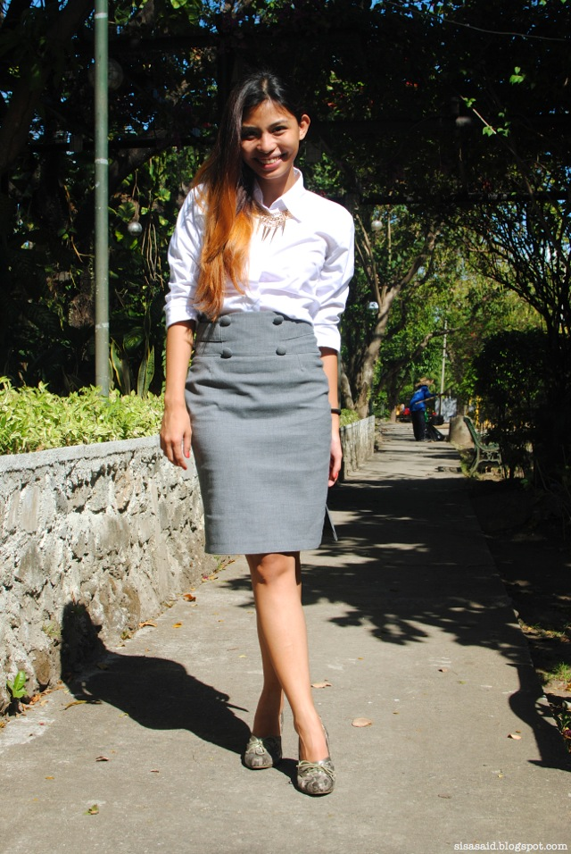 thesis defense outfit