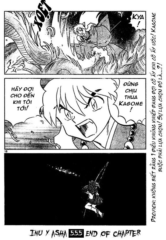 Inuyasha-Khuyển Dạ Xoa-Bản Đẹp chap 522 Trang 19