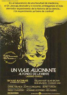 Metamorfosis / Estados Alterados / Viaje Alucinante Al Fondo De La Mente Poster