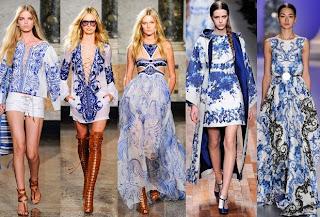 tendencias de moda - peças em azul