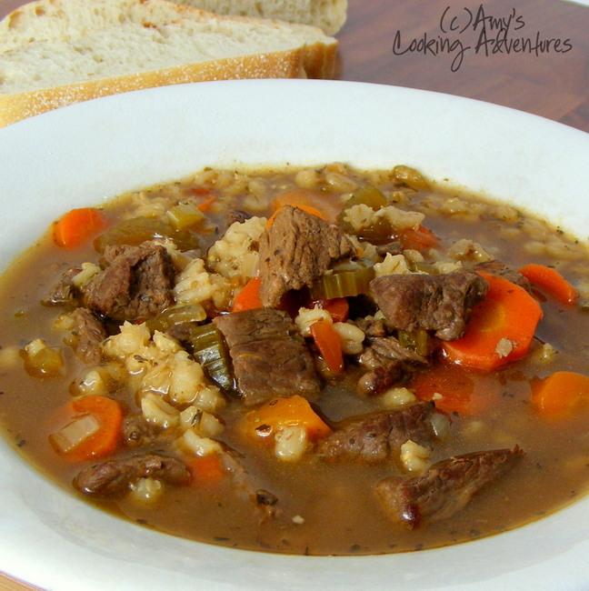 ... cup servings we ll definitely be making beef barley soup again soon