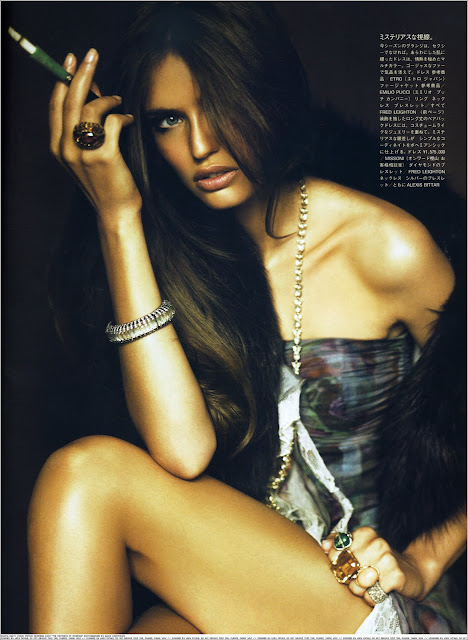 Sexy Italian Model Bianca Balti Hottest Photo Shoot Pics HD
