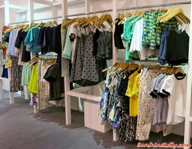 Love Bonito Publika, Kuala Lumpur, Love Bonito, Publika, Kuala Lumpur, Laslie Midi Skirt, Daralis Peplum Dress