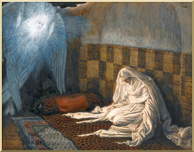 """The Annunciation"" -- by James Tissot"