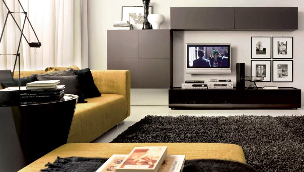 Amarelo na decora o decor alternativa for Modern day living room decor