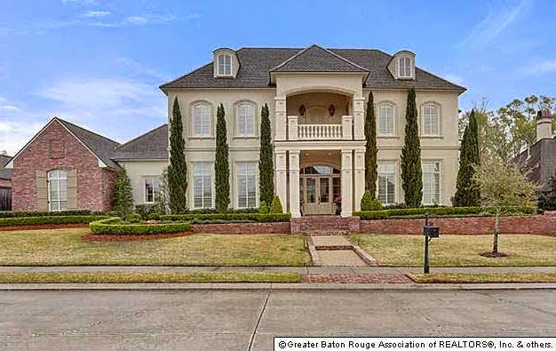 Most expensive homes sold in baton rouge louisiana in 2 for House plans in baton rouge
