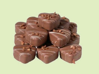 """<img alt="""" Coeur au chocolat."""""""