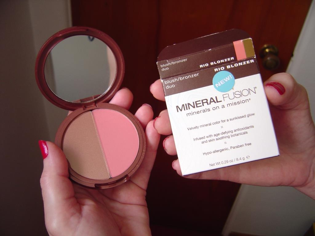 Nuts 4 Stuff: Review + Swatches: Mineral Fusion Blush/Bronzer Duo ...