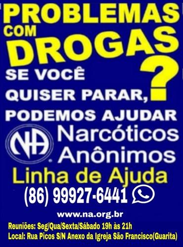 Narcóticos Anônimos - Problemas com drogas?