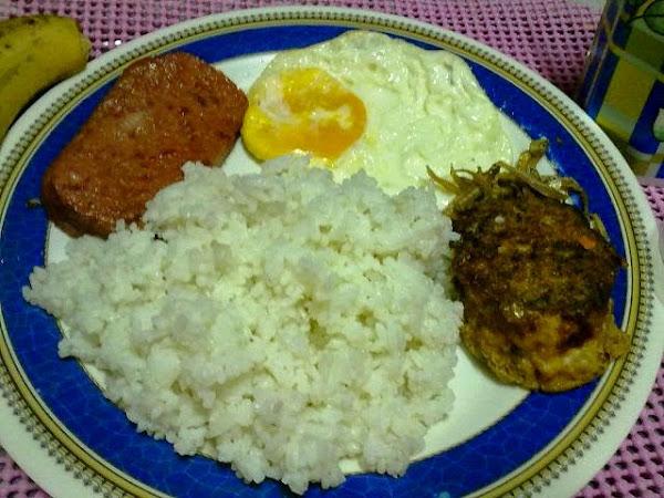 dada blog - rice egg etc.