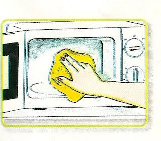 Como limpiar un horno microondas lodijoella - Como limpiar el horno ...