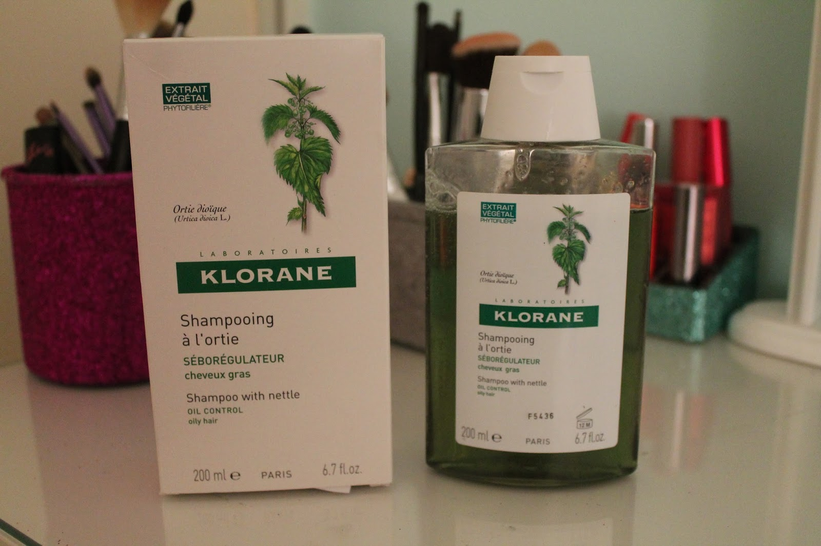 Klorane Nettle Shampoo Oily Hair