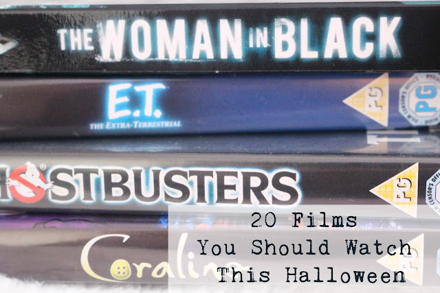20 films Halloween October kids scary horror spiders best bloggers