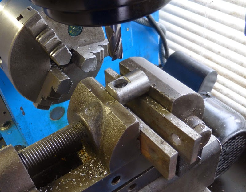 drilling and milling air piece