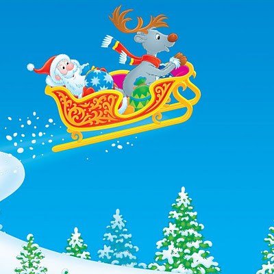 Santa Claus Christmas download free wallpapers for Apple iPad