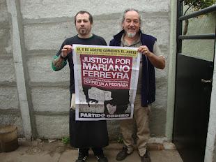 MACHI Y BUBY VILLANUEVA, TAMBIÉN PIDEN JUSTICIA POR MARIANO