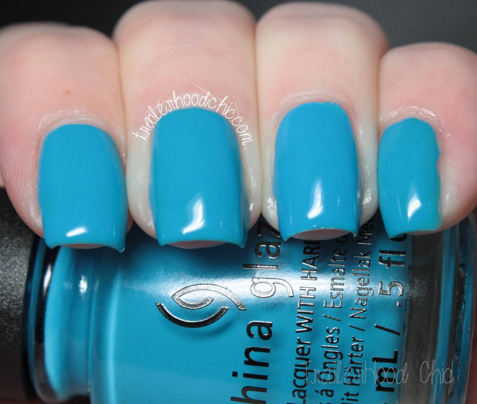china glaze electric nights review swatches dj blue my mind