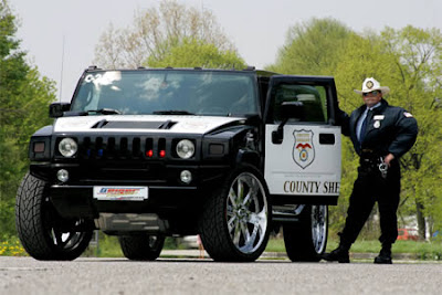 Hummer Police Car