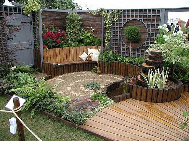 ideias jardins pequenos : ideias jardins pequenos:Ideas Para Jardines De Casa
